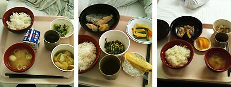 一日の食事